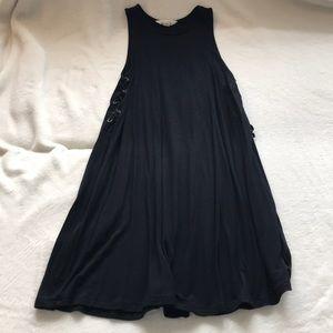 Soft and Flowy Black Dress